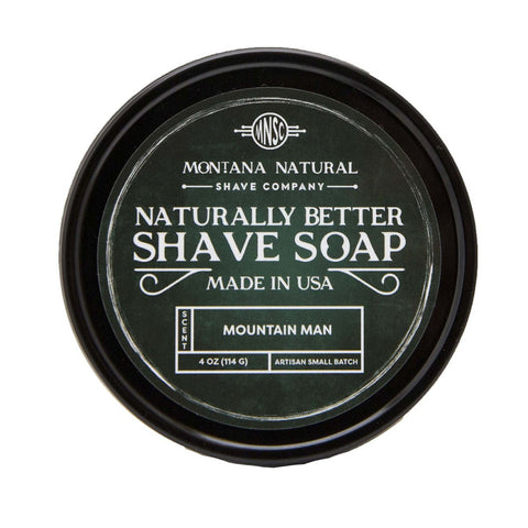 Montana Natural Shave Soap by DAYSPA Body Basics (2 Scents)
