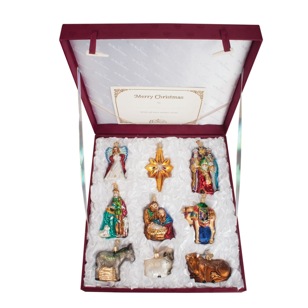 Nativity Christmas Ornament Collection by Old World Christmas at Montana Gift Corral