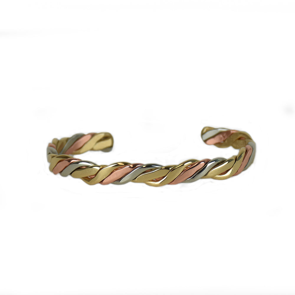 New River Mixed Metal Bracelet by Sergio Lub Jewelry