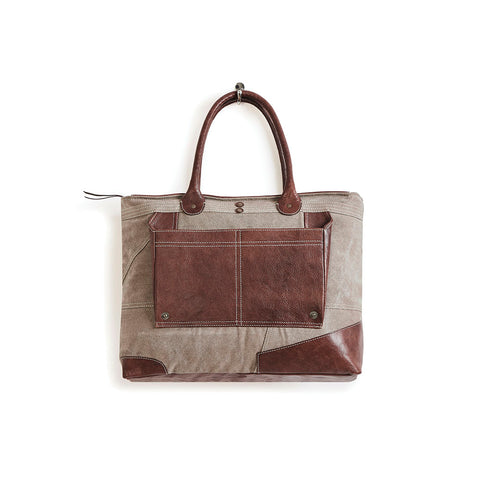 Oak Dakota Shoulder Bag by Mona B