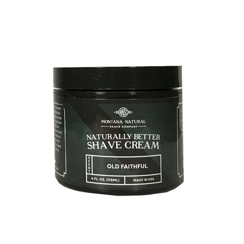 Old Faithful Shave Cream by Montana Natural Shave Company From DAYSPA Body Basics