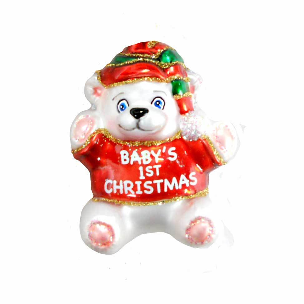 Baby's First Christmas Ornament by Old World Christmas