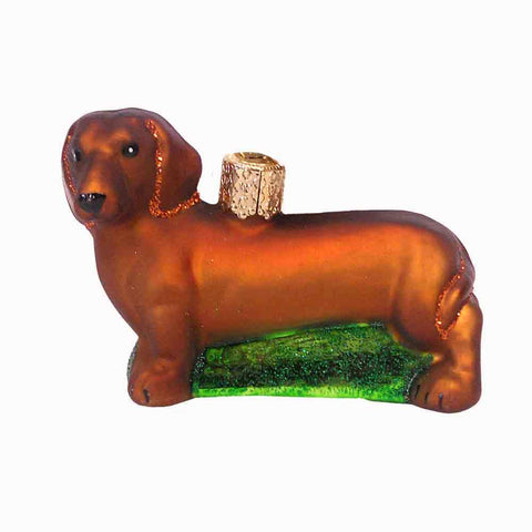 Old World Dachshund Ornament