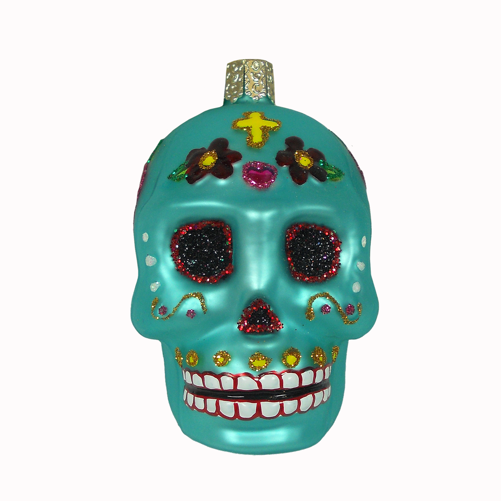 Old World Christmas Day of the Dead Ornament