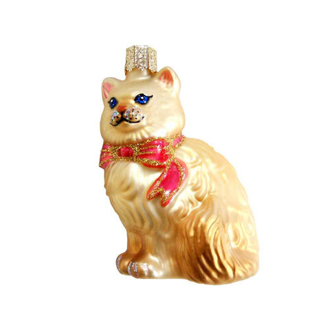 Old World Christmas Himalayan Kitty Ornament