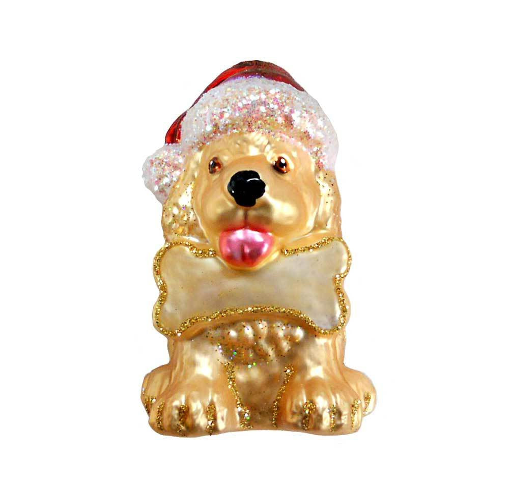 Old World Christmas Jolly Pup Ornament