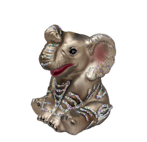 Old World Christmas Little Elephant Ornament