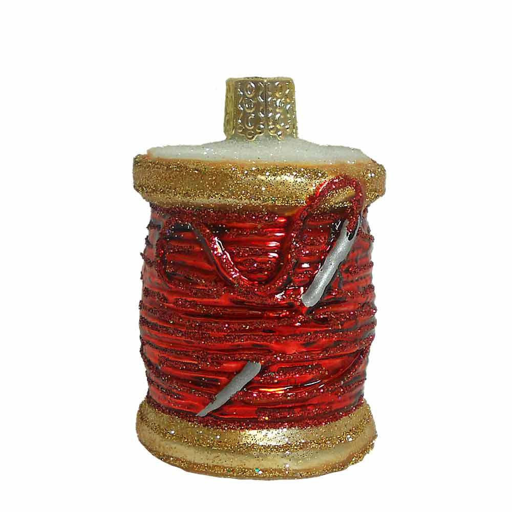 Old World Christmas Spool of Thread Ornament