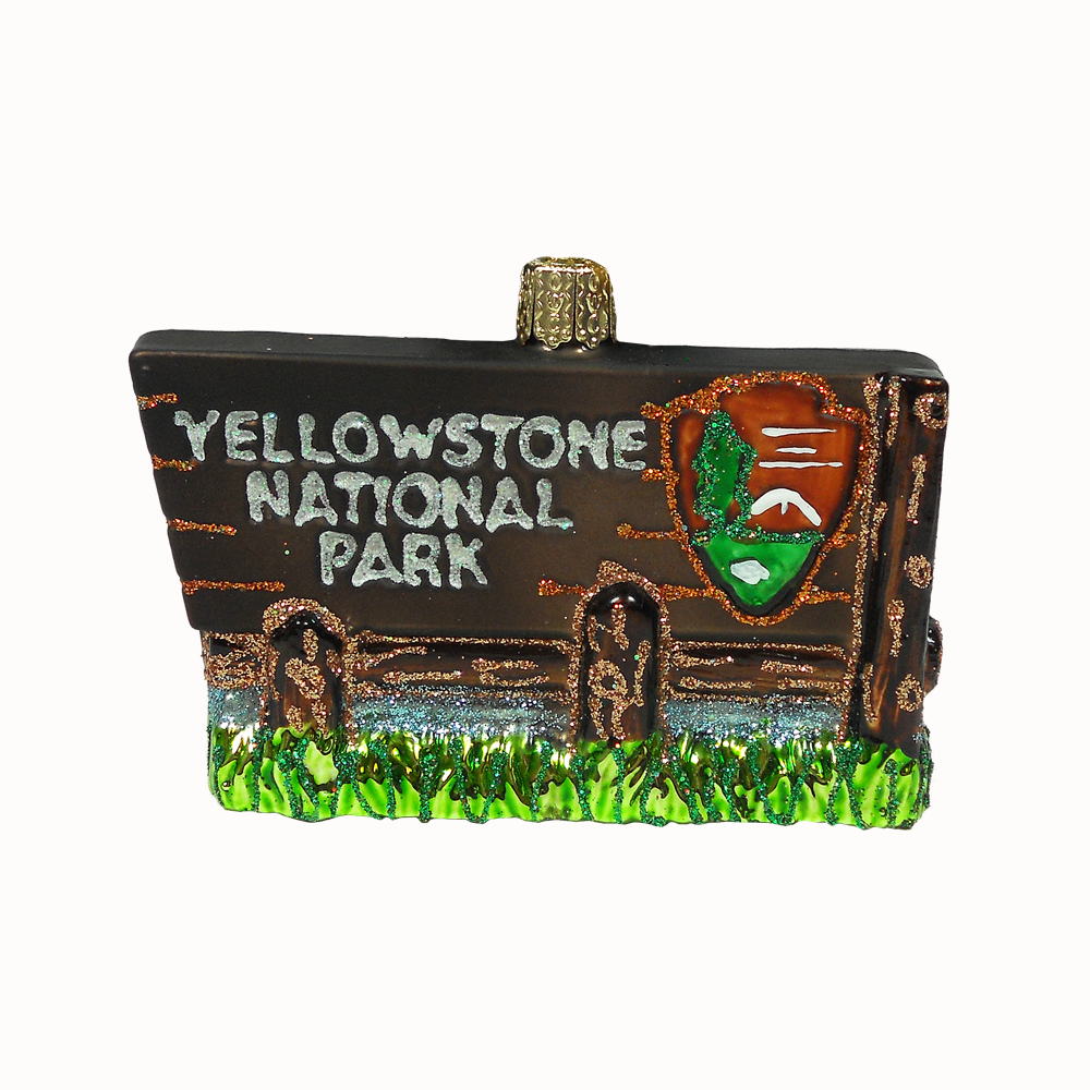 Old World Christmas Yellowstone National Park Ornament