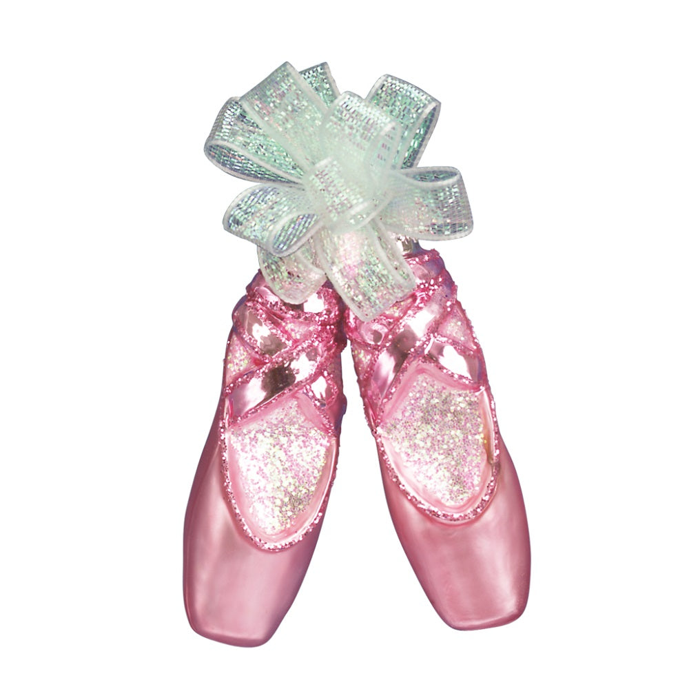 Pair of Ballet Slippers Christmas Ornament by Old World Christmas at Montana Gift Corral