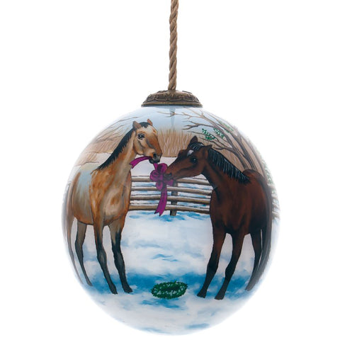Persis Clayton Weirs Look What We Found Christmas Ornament by Inner Beauty