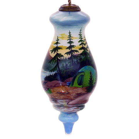 Persis Clayton Weirs Camp Fire Inner Beauty Christmas Ornament