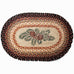 Pinecone Oval Patch Rug by Capitol Earth Rugs