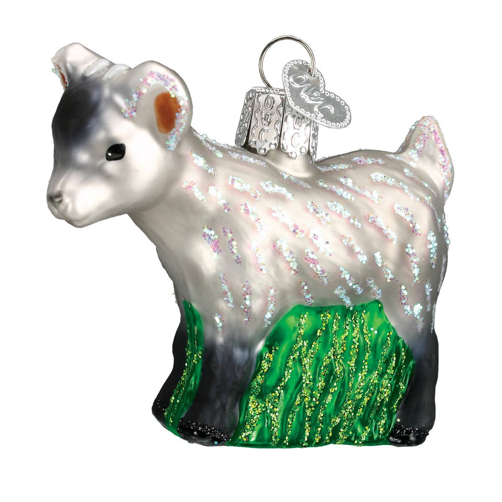 Pygmy Goat Ornament by Old World Christmas