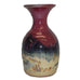 Red Skies Bud Vase by Fire Hole Pottery