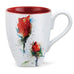 Red Rose Flower Mug by Dean Crouser