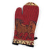 Running Horses Montana Wildlife Oven Mitts by Kinara Fine Weaving