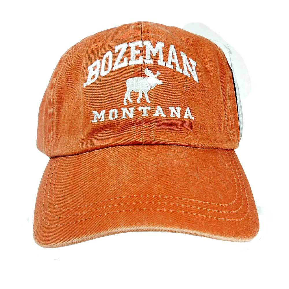 Rust Moose Icon Bozeman Cap
