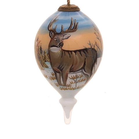 Whitetail Deer Christmas Ornament by Sam Timm from Inner Beauty
