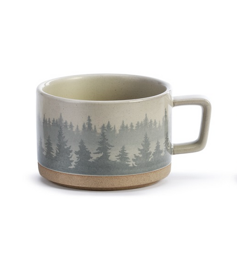 At Home Among the Trees Soup Mug by Demdaco