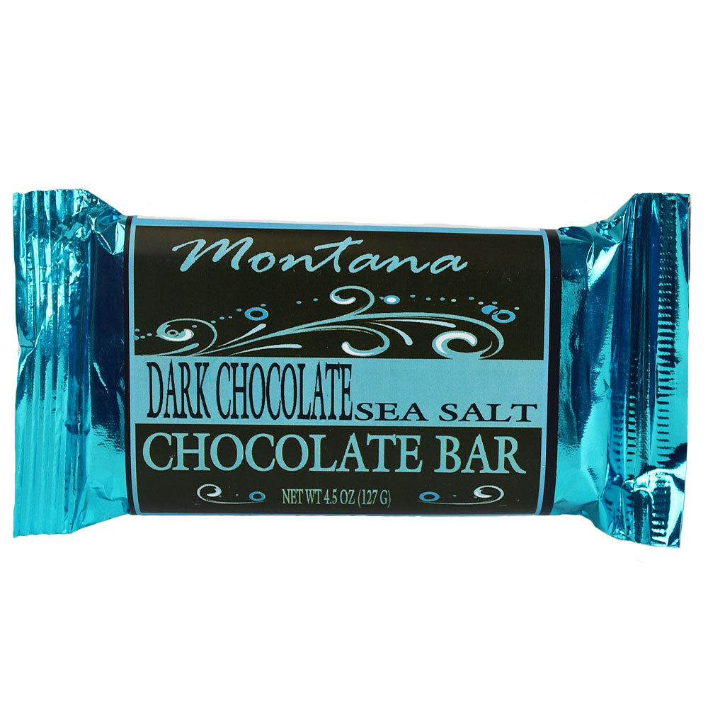 Sea Salt Dark Chocolate Bar by Huckleberry People