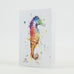 Sea Horse Aquatic Watercolor Greeting Cards by Dean Crouser at Montana Gift Corral