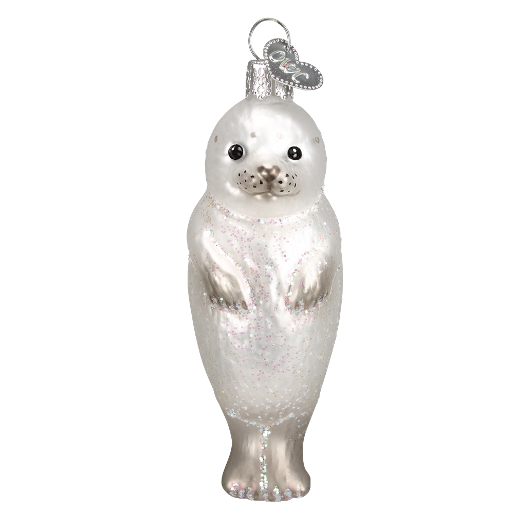 Seal Pup Ornament by Old World Christmas