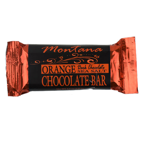 Sea Salt Orange Chocolate Bar by Huckleberry People