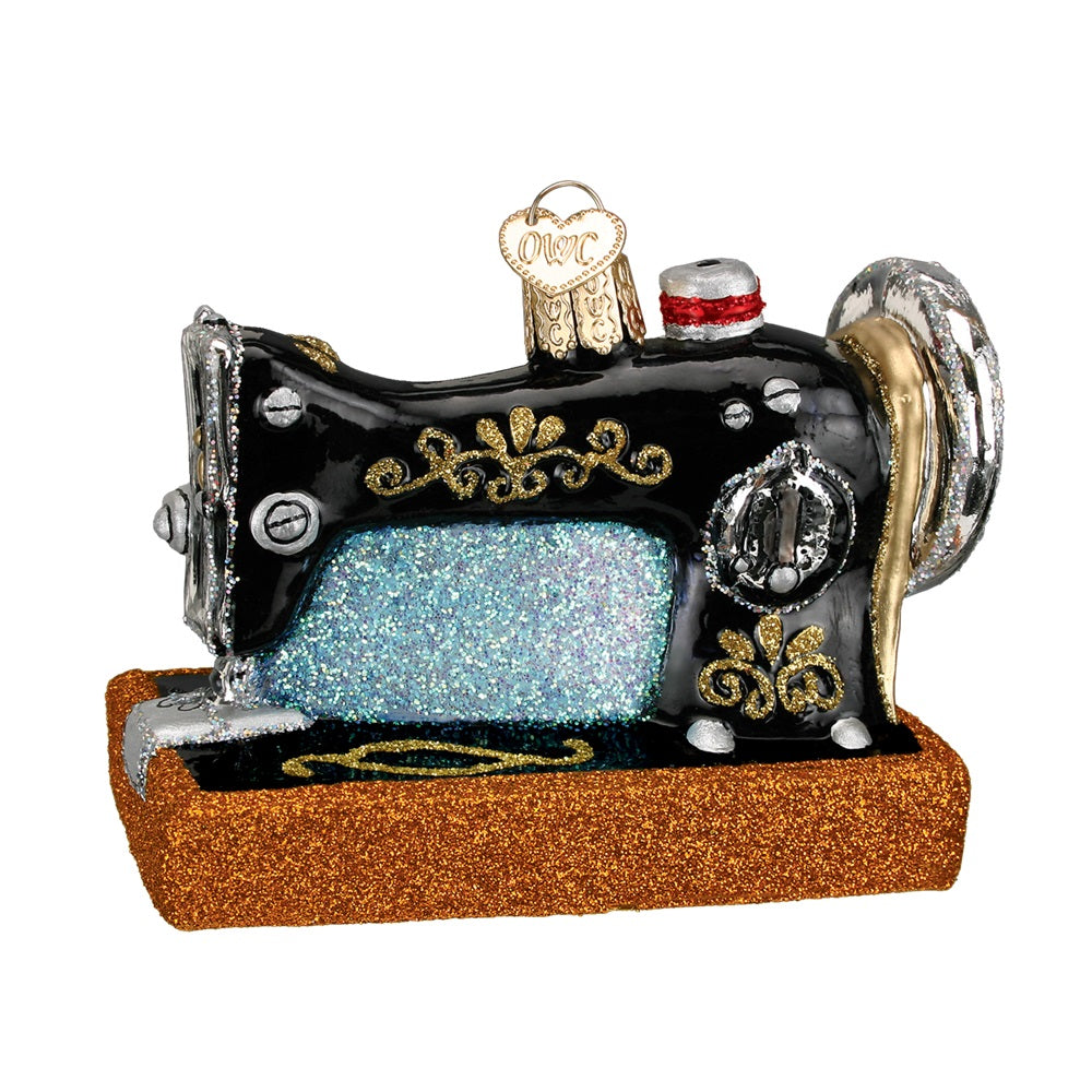 Sewing Machine Ornament by Old World Christmas