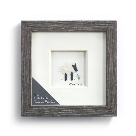 Sharon Nowlan The Little Lamb Wall Art by Demdaco at Montana Gift Corral