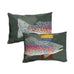 Shelle Lindholm Rainbow Trout Pillow by Meissenburg Designs at Montana Gift Corral