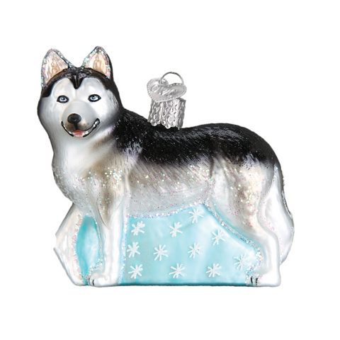 Siberian Husky Ornament by Old World Christmas