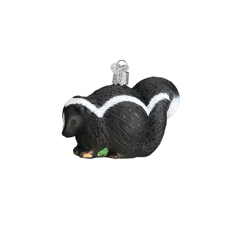 Skunk Christmas Ornament by Old World Christmas