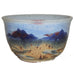 Sky Blue Salad Bowl by Fire Hole Pottery