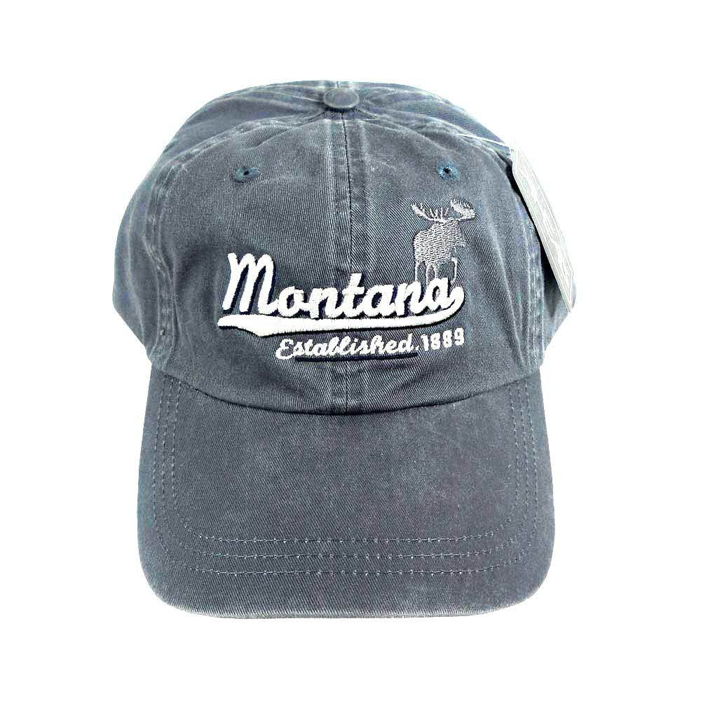 Slate Moose Established Montana Cap