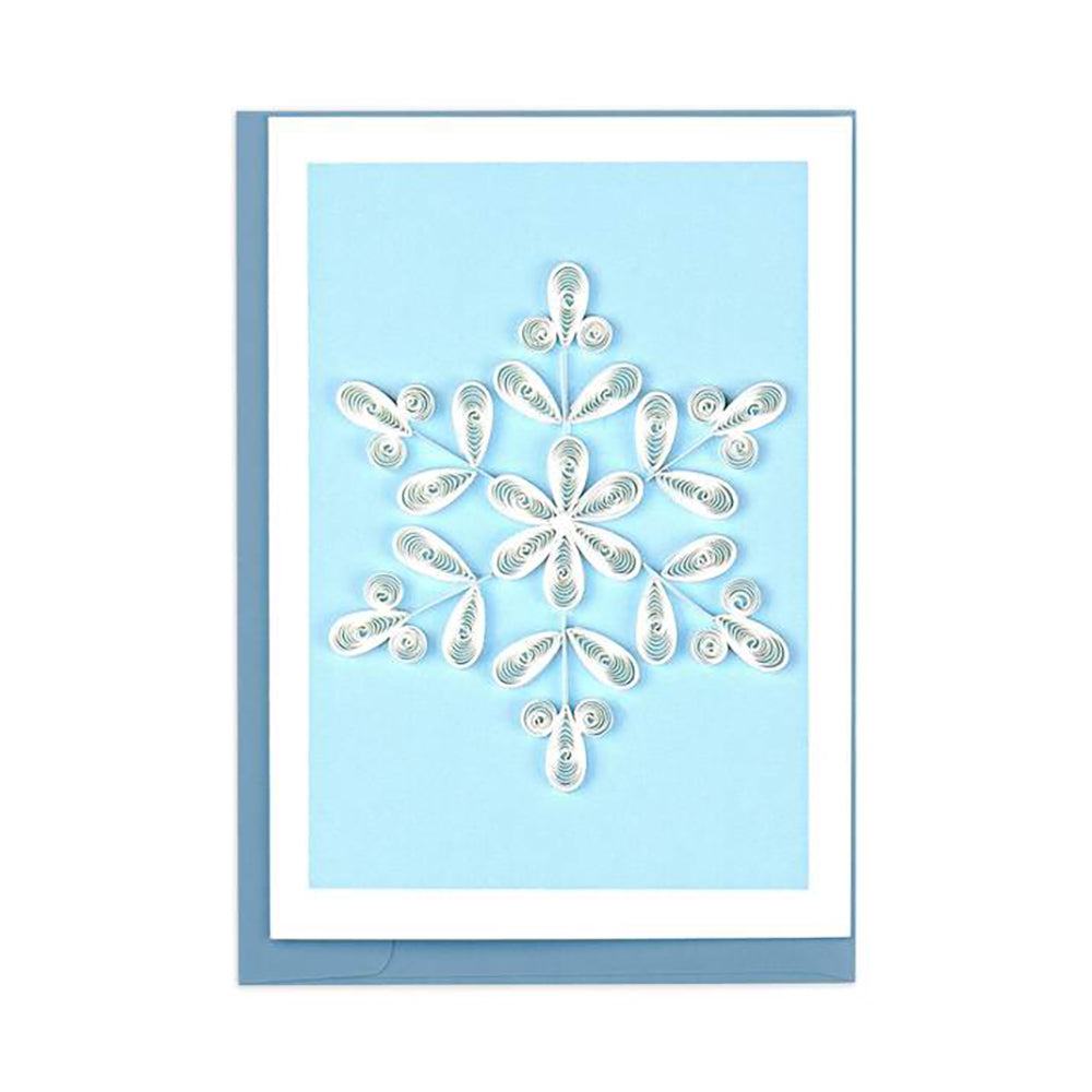 Snowflake Gift Enclosure Card by Quilling Card