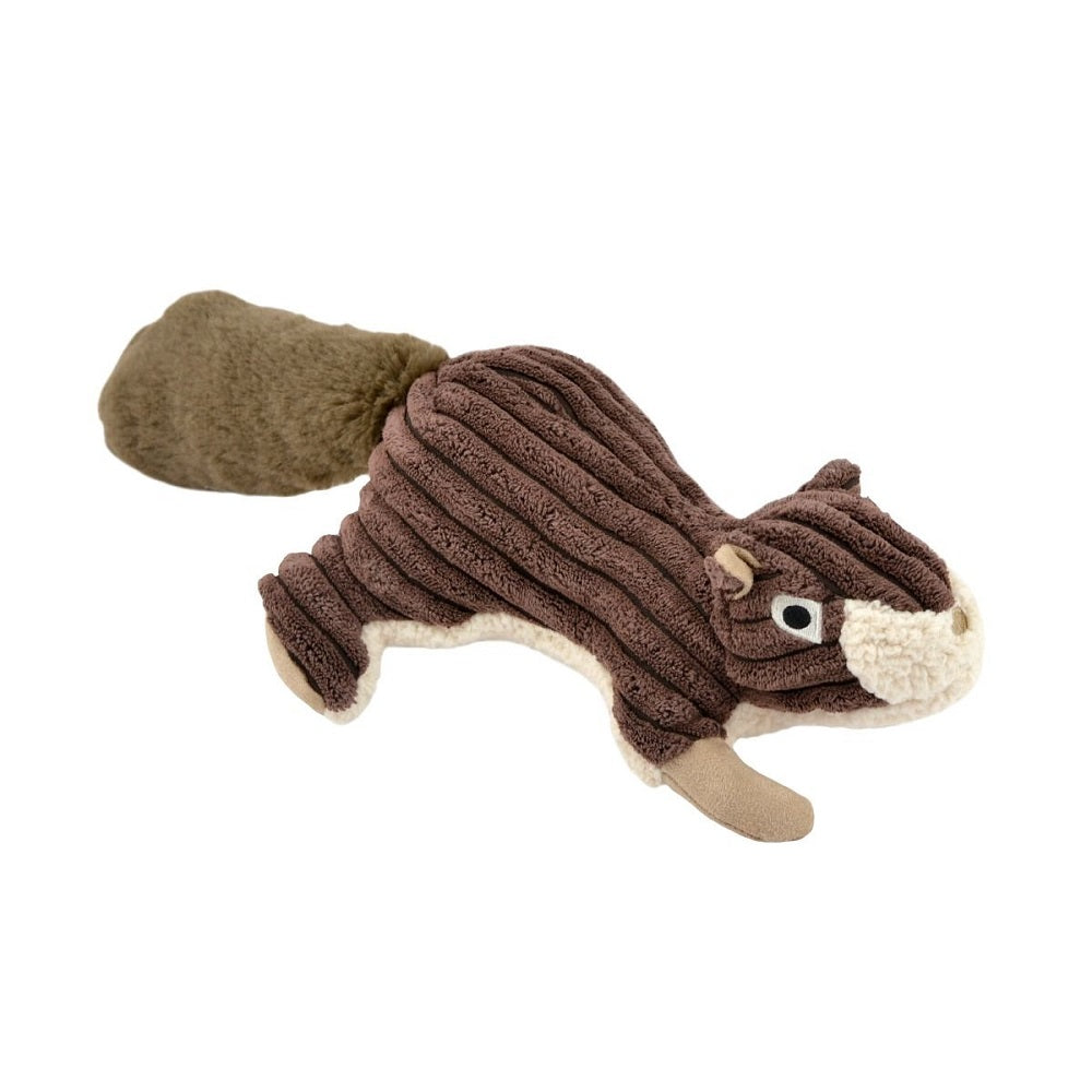 Squirrel Plush Squeaker Toy by Tall Tails