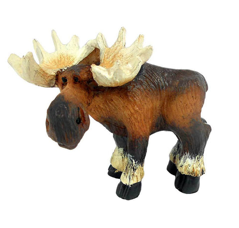 Standing Moose Mini Figurine by Big Sky Carvers