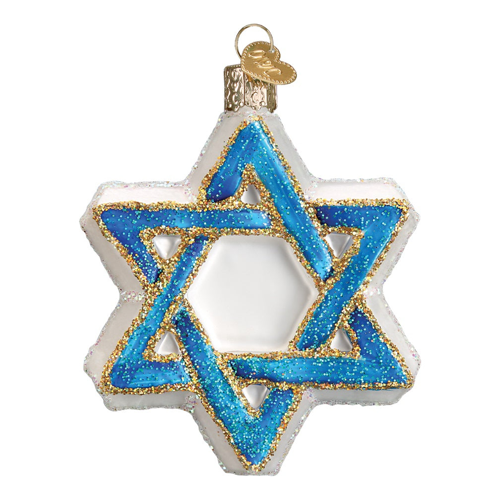 Star of David Ornament by Old World Christmas at Montana Gift Corral