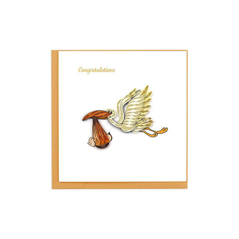 Stork Delivery Greeting Card