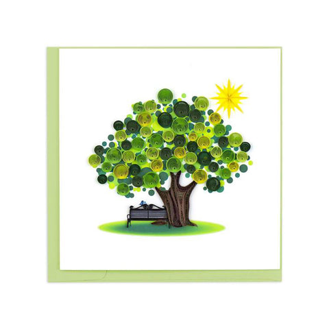 Summer Tree Greeting Card