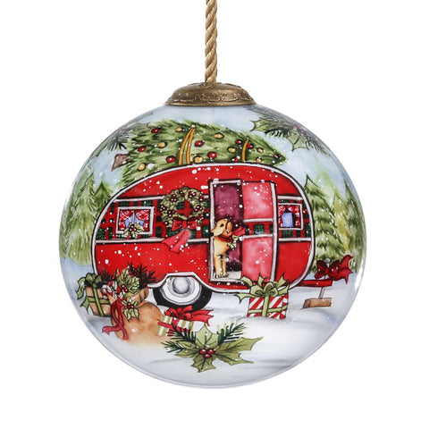 The Susan Winget Home for the Holidays Christmas Ornament by Inner Beauty is a great gift if you can't make it home to tell the ones you love that you are still thinking of them!