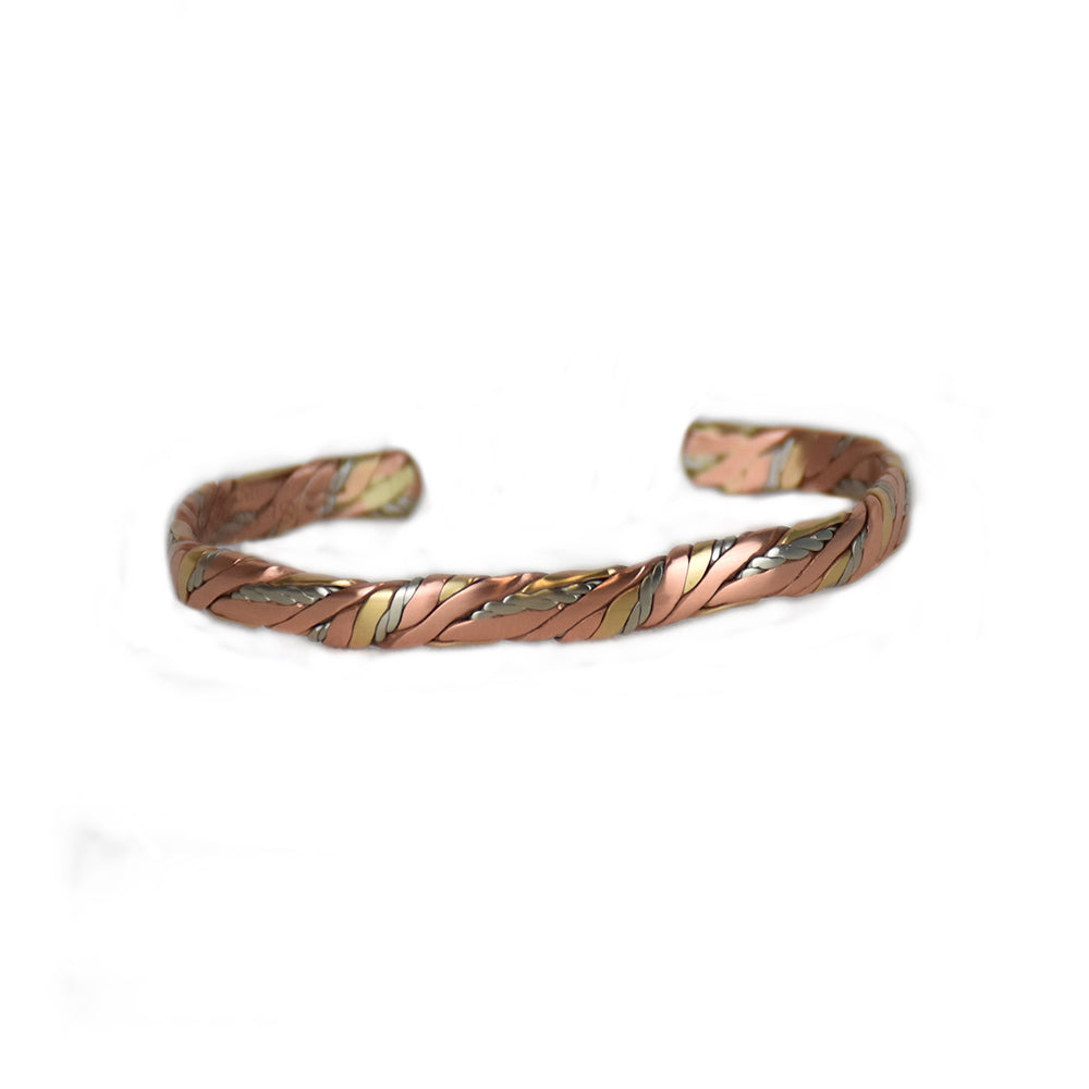 Sweat Lodge Mixed Metal Bracelet by Sergio Lub Jewelry