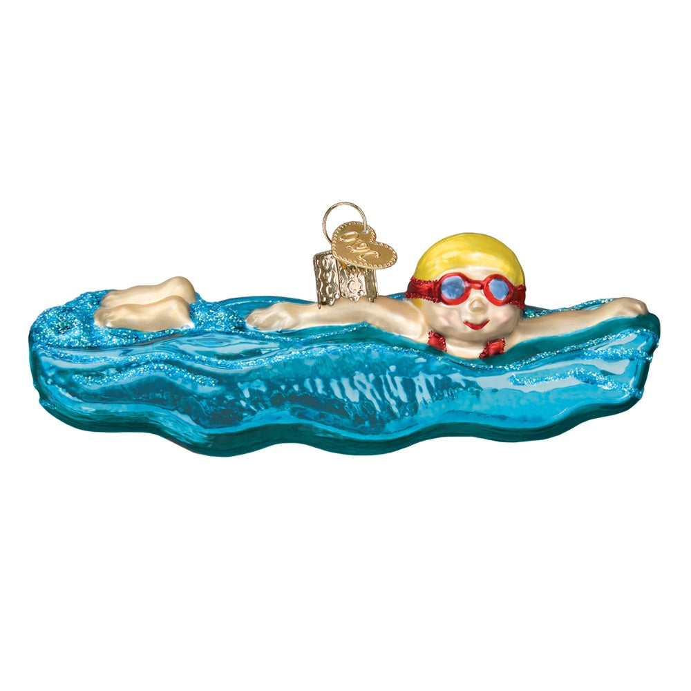 Swimming Ornament by Old World Christmas