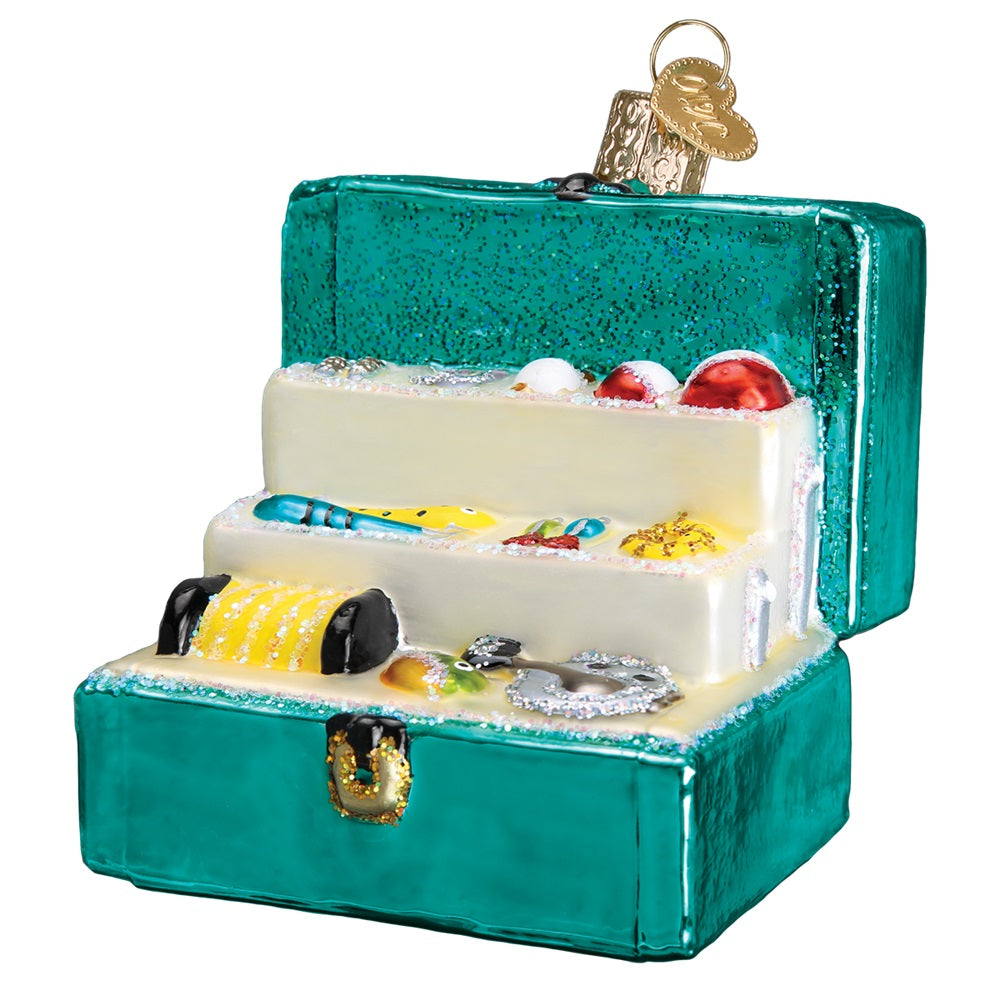 Tackle Box Christmas Ornament by Old World Christmas