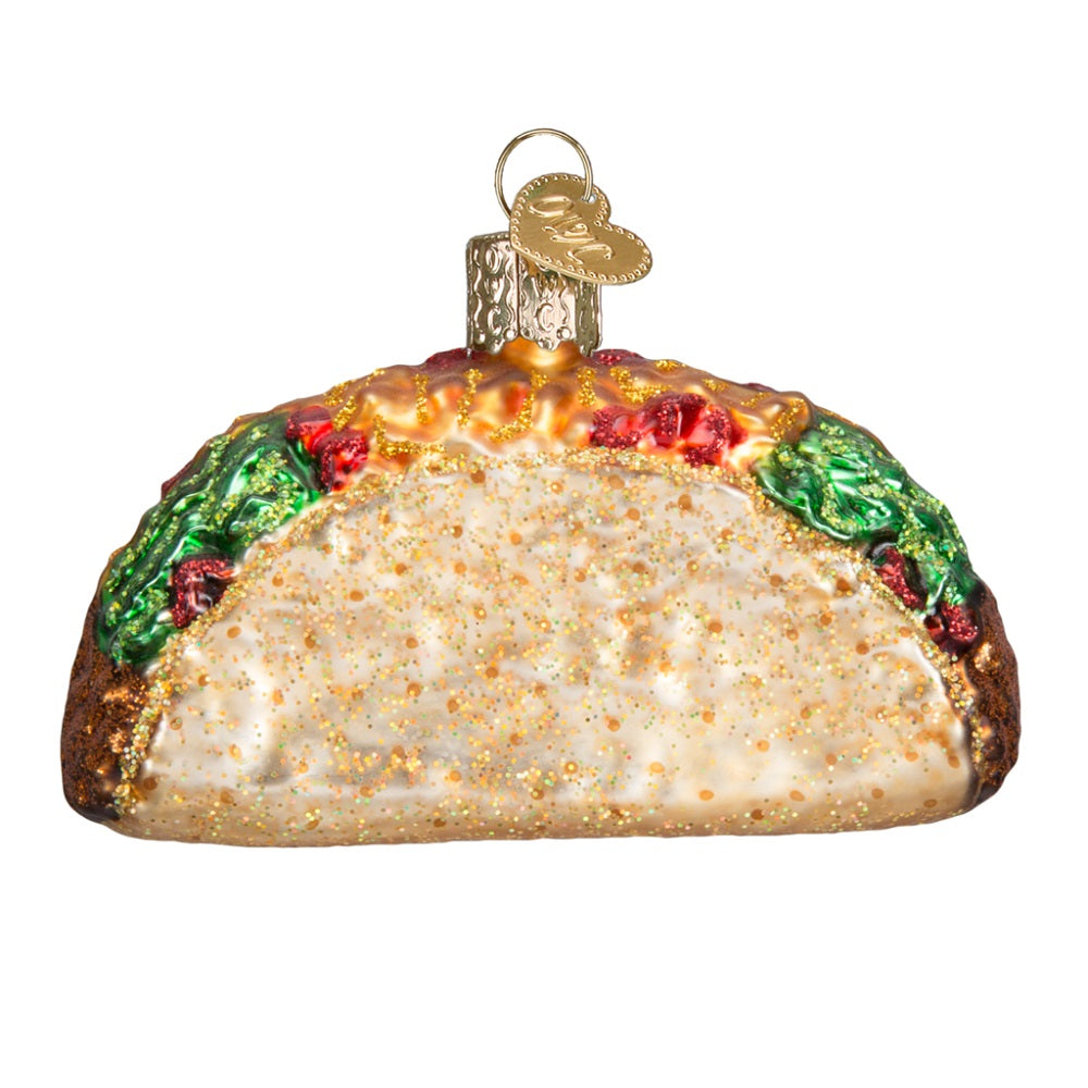 Taco Ornament by Old World Christmas