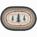 Tell Timbers Oval Patch Rug by Capitol Earth Rugs