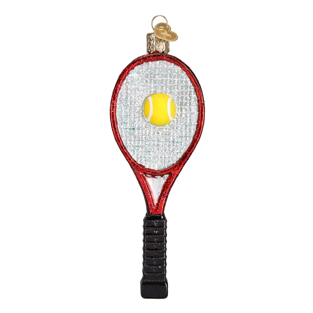 Tennis Racket Christmas Ornament by Old World Christmas
