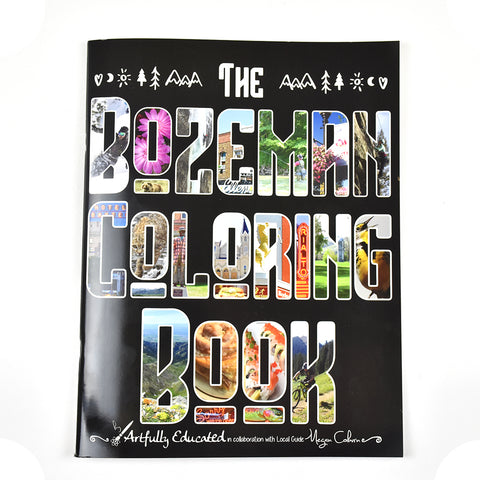 The Bozeman Coloring Book by Megan Coburn