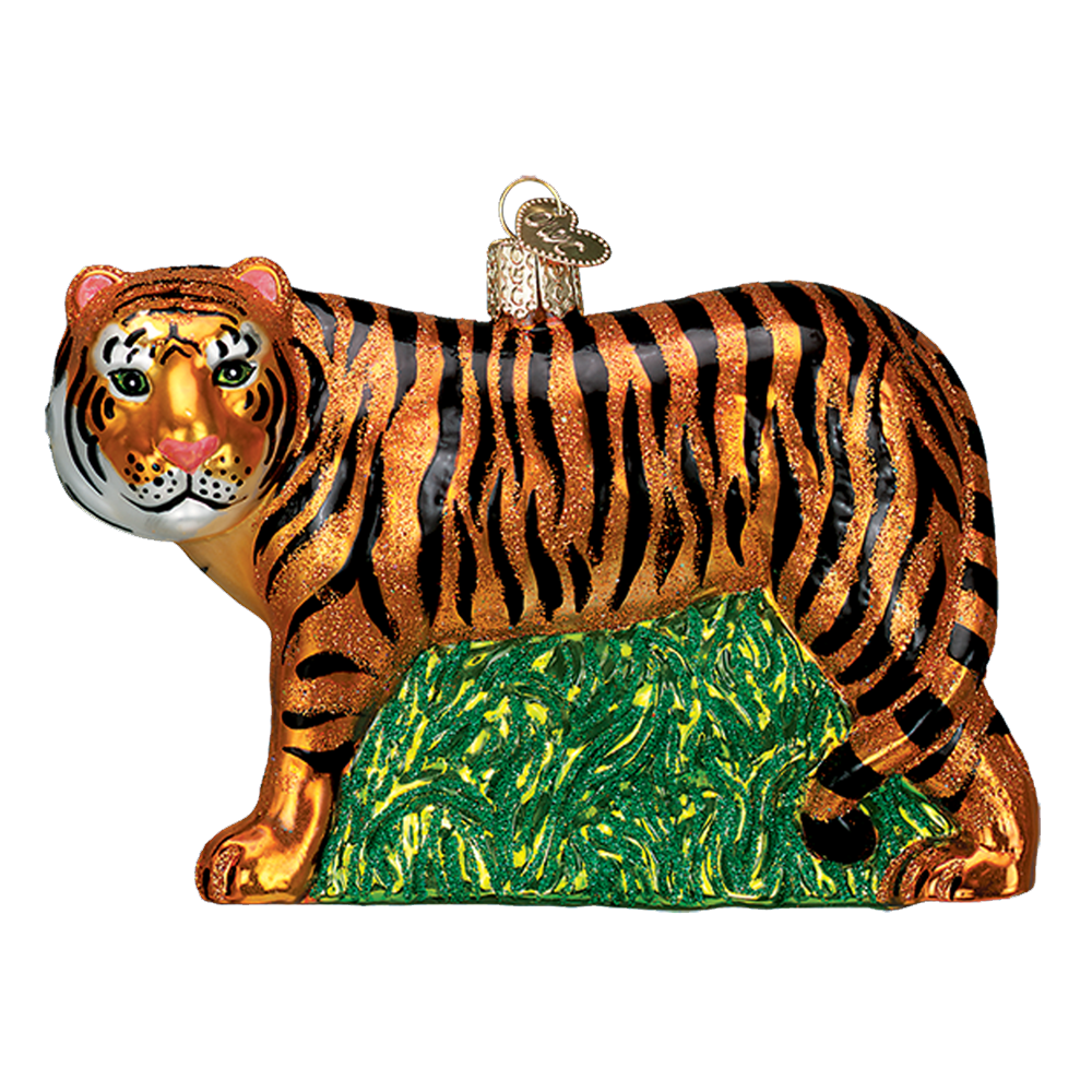 Tiger Ornament by Old World Christmas